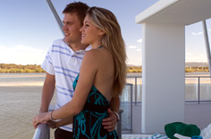 Couple on balcony Ramada Ballina