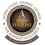 North Coast Tourism Awards Finalist