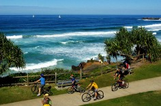 Walk or cycle the river and coastline