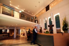 Ramada Hotel and Suites foyer